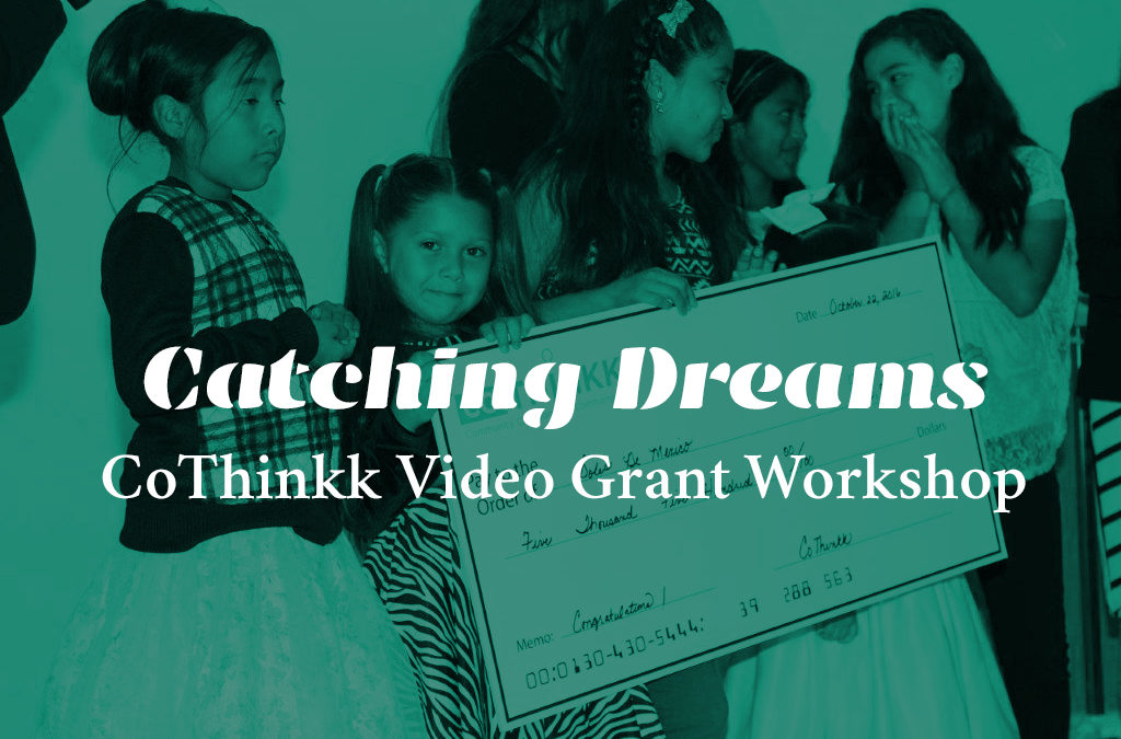 Video Grant Workshop Coming Up!